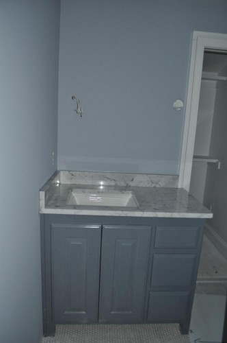 Baby Bathroom - Countertop and Paint (2)