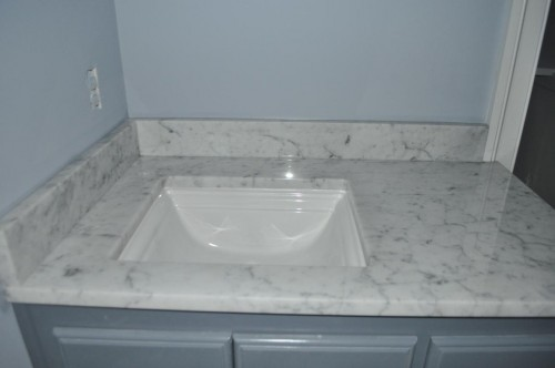 Baby Bathroom - Countertop and Paint (3)