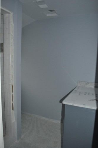 Baby Bathroom - Countertop and Paint