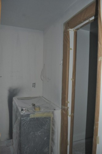 Baby's Bathroom - Paint Prep