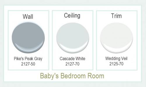 Baby's Bedroom Paint Colors
