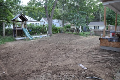 Back of the House - Excavation