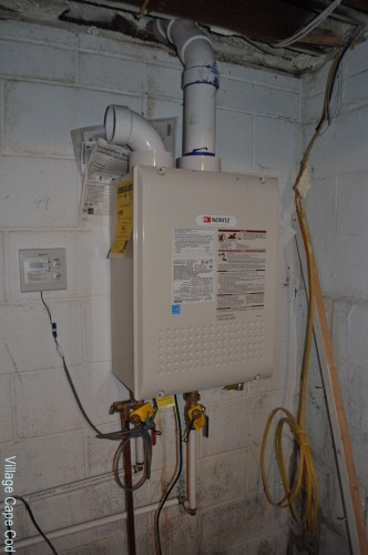 Basement - Tankless Water Heater
