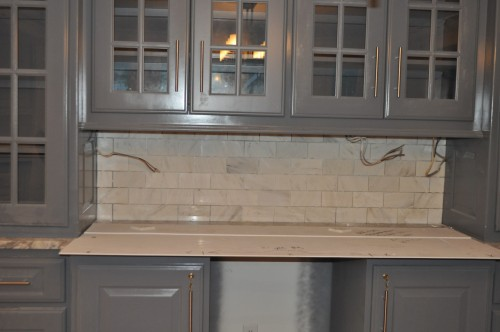 Dining Room - Backsplash