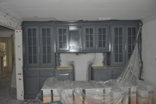 Dining Room - Cabinet Gray