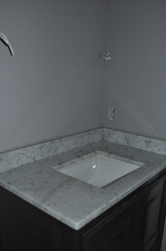 Downstairs Bathroom - Countertops (2)