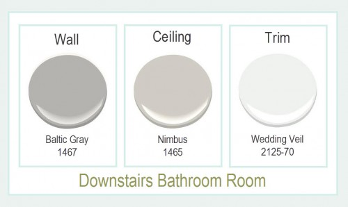 Downstairs Bathroom Paint Colors