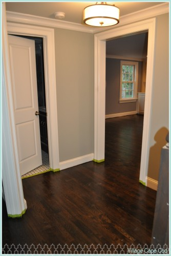 Downstairs Hallway - Hardwoods (1)