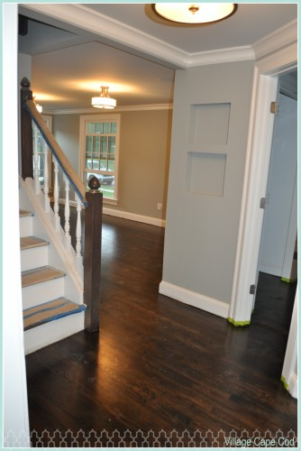 Downstairs Hallway - Hardwoods (2)