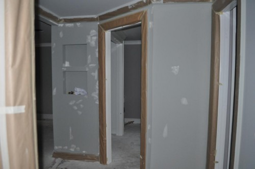 Downstairs Hallway - Paint Prep (2)