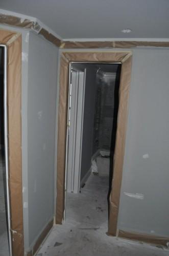 Downstairs Hallway - Paint Prep (4)