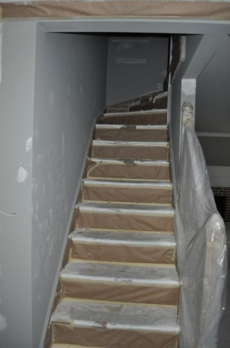 Downstairs Hallway - Paint Prep (5)