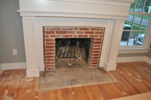 Fireplace - Wood Floor (1)