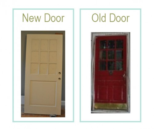 Front Door Old vs New