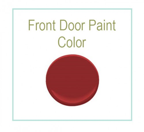 Front Door Paint Color