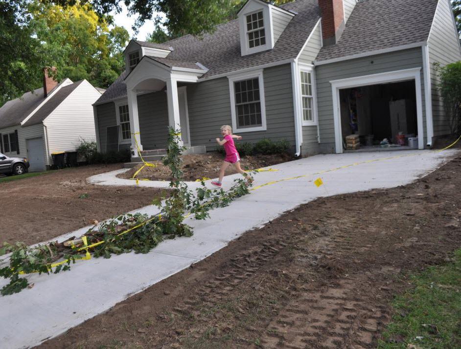 Back Yard Excavation : Smooth like butter excavation time village cape