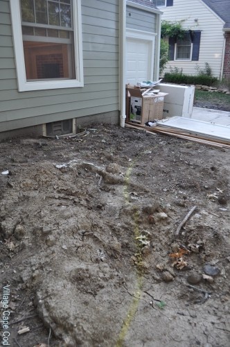 Front of the House - Start of Landscaping (1)
