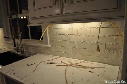 Kitchen - Under lighting