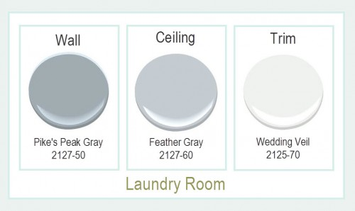 Laundry Paint Colors