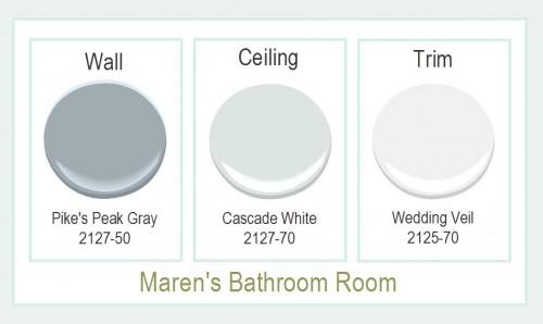 Marens Bathroom Paint Colors