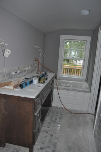 Master Bathroom - Counter and Paint (2)