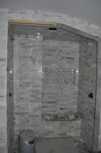 Master Bathroom - Tiling (10)