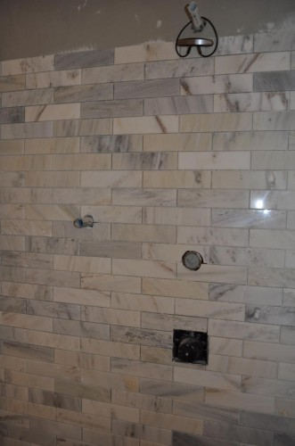 Master Bathroom - Tiling (14)