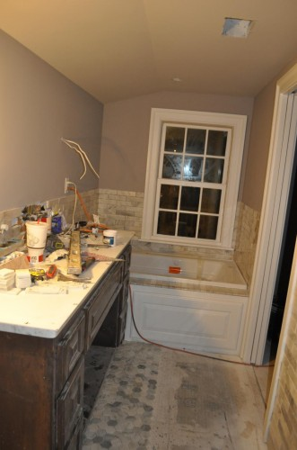 Master Bathroom - Tiling (6)