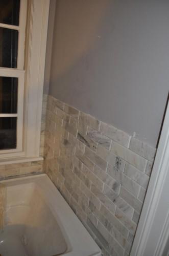 Master Bathroom - Tiling (8)