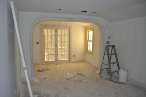Master Bedroom - Primed Paint