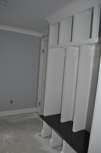 Mudroom - Final Paint