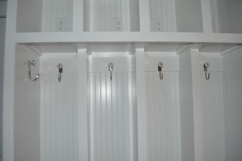 Mudroom - Locker Hooks