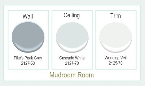 Mudroom Paint Colors