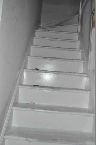 Stairs - Fresh Paint