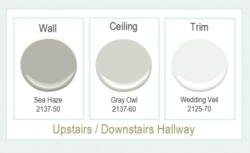 Upstairs Downstairs Paint Colors