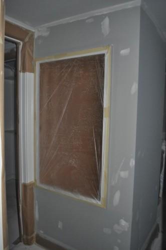 Upstairs Hallway - Paint Prep (3)