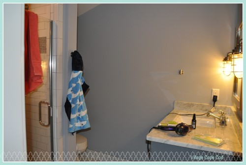 Babys Bathroom - First Week