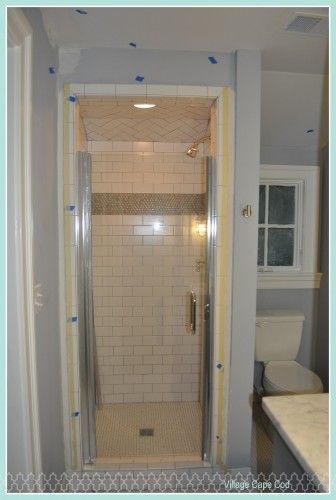 Baby's Bathroom - Glass Shower (1)
