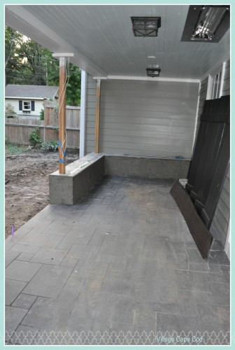 Backporch - prep for stone (1)