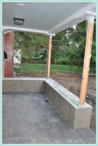 Backporch - prep for stone (2)