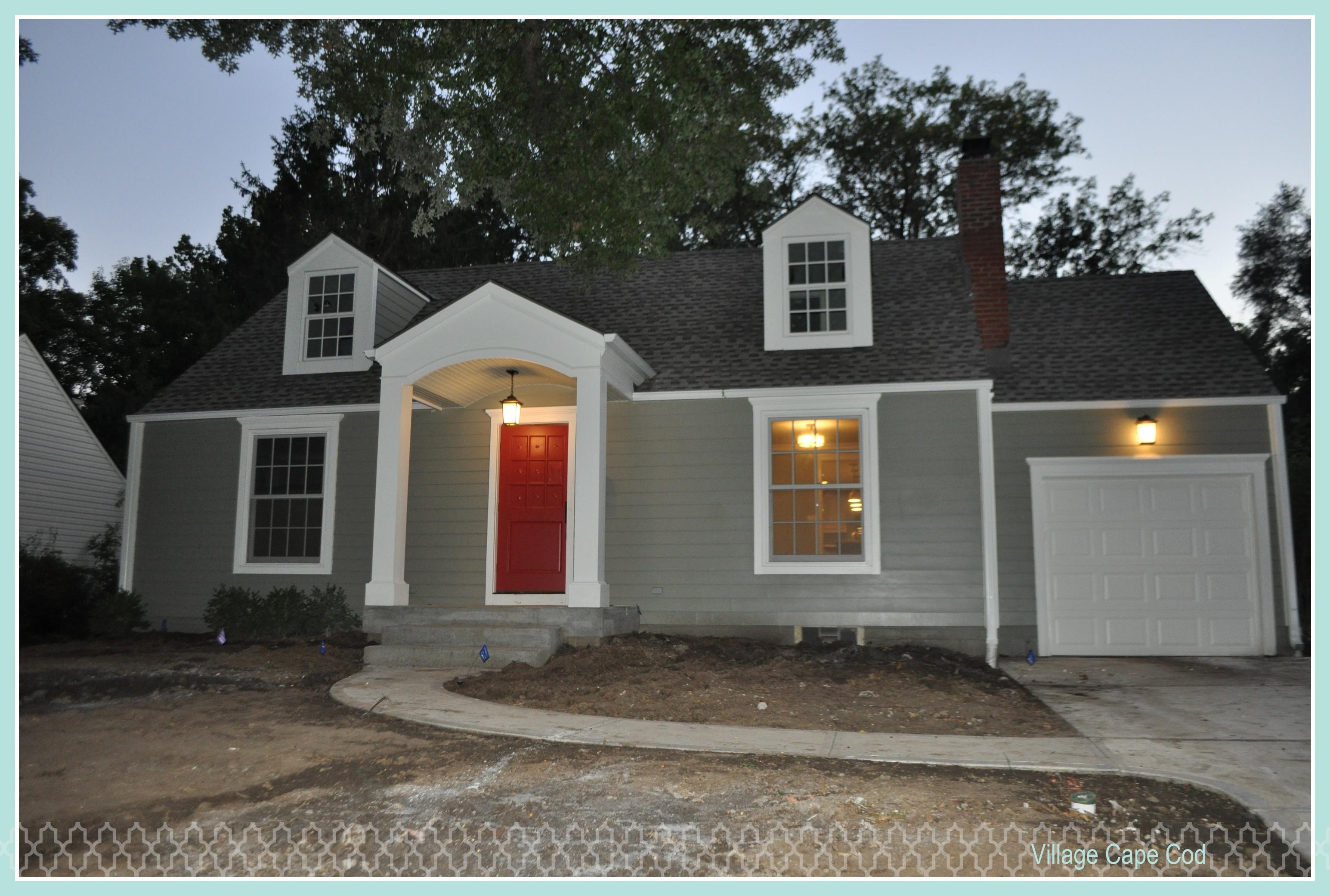 Impressive 30 Red Door Grey House Decorating Design Of