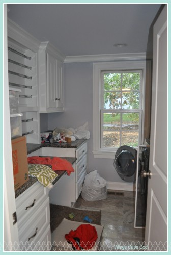 Laundry Room - First Week