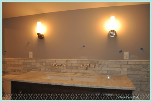 Master Bathroom - Lights