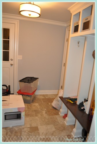 Mudroom - First Week