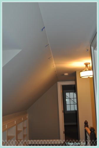 Upstairs Hallway - Paint Patching