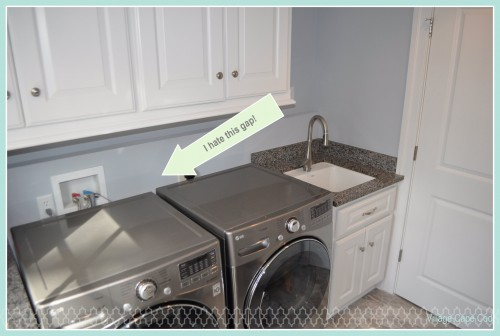 Washer Dryer Gap